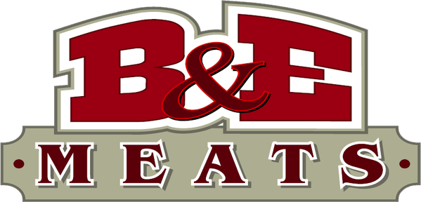 b and e meats logo